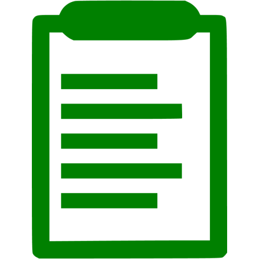 Green Clipboard Icon