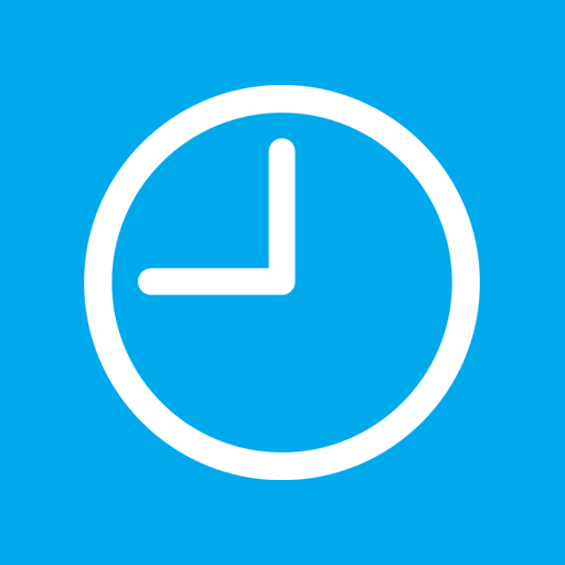 Blue Clock Icon Images