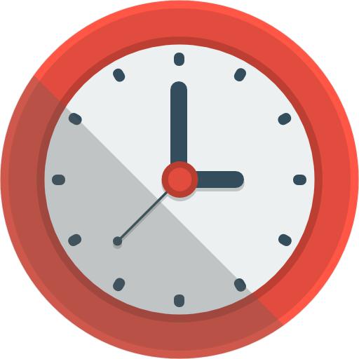 Clock Icon Flat Iconset Flat