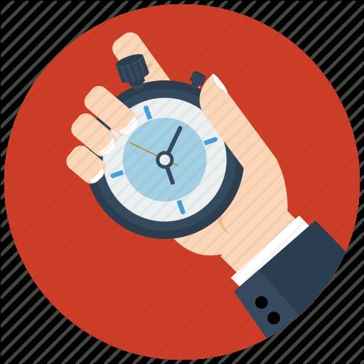 Clock, Flat Icon, Seo, Time, Watch, Web Icon