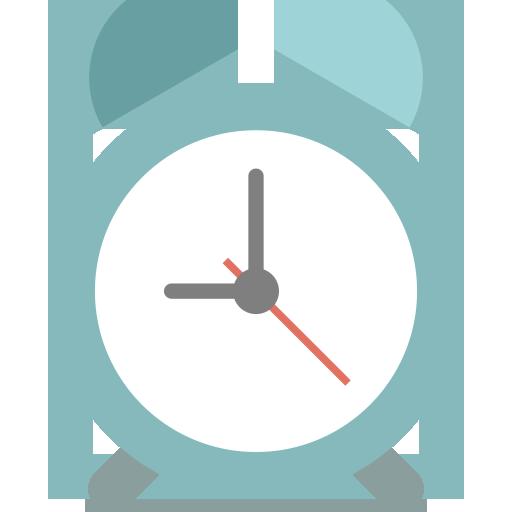 Mixed Alarm Flat Icon