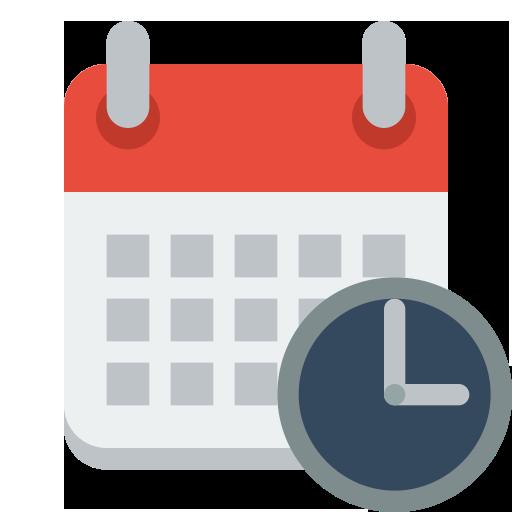 Calendar Clock Icon Iconshow