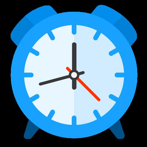 Alarm, Clock, Flat Icon Free Of Snipicons Flat