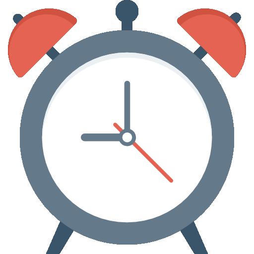 Alarm Clock Icon Education Dinosoftlabs