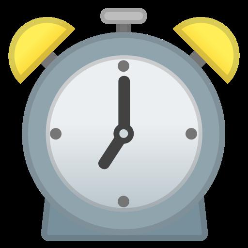Alarm, Clock Icon Free Of Noto Emoji Travel Places Icons