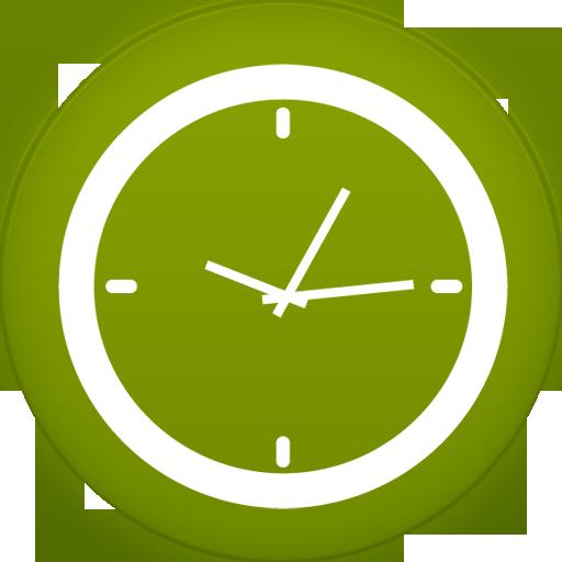Clock Icon Circle Iconset