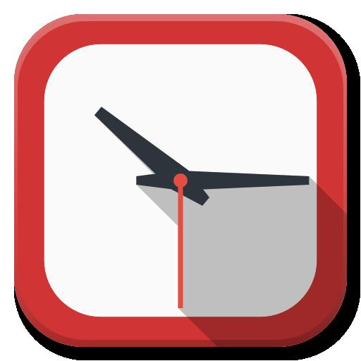 Apps Clock Icon Flatwoken Iconset Alecive