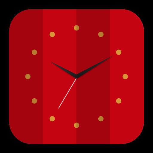 Clock Icon Folded Flat Iconset Pelfusion