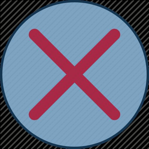 Cancel Button, Close Square, Cross Square, Delete Selection