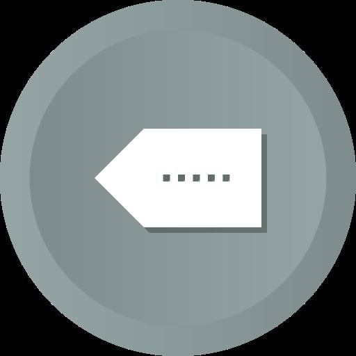 Erase, Circle Vol Close, Button, Interface, Circle, Delete