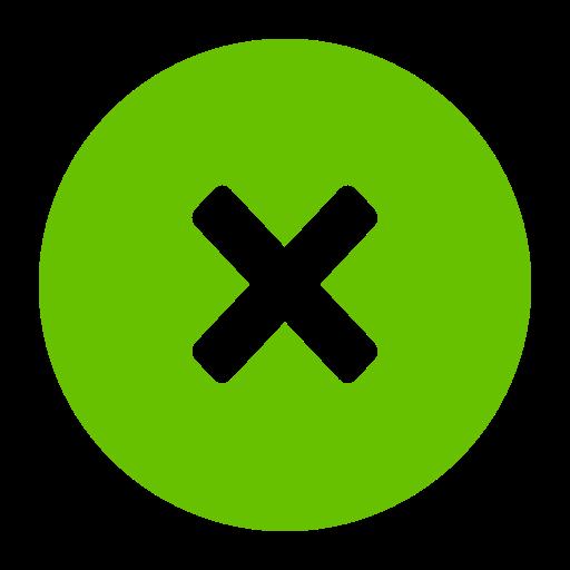 Delete Glyph Icon