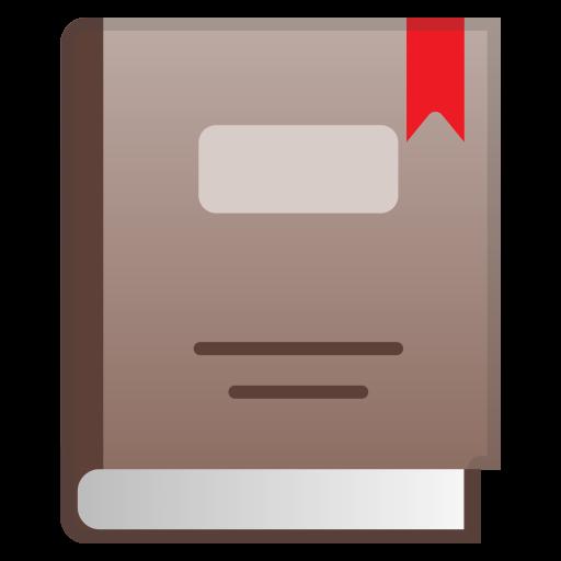 Closed Book Icon Noto Emoji Objects Iconset Google