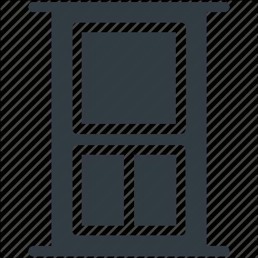 Closed Door, Door, Entrance, Exit, Home Door Icon