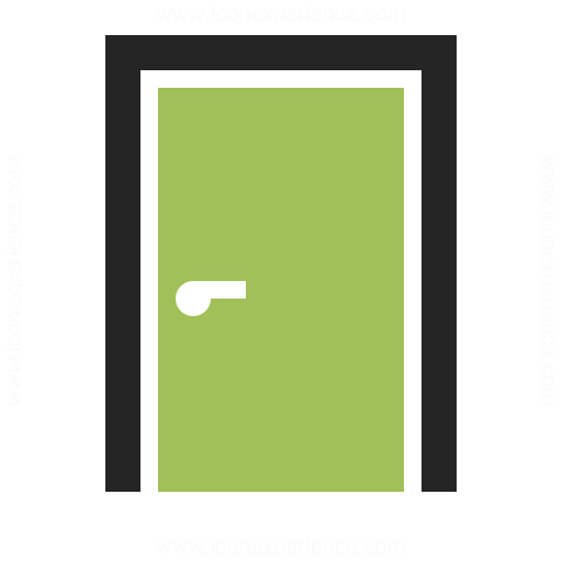 Door Closed Icon Iconexperience