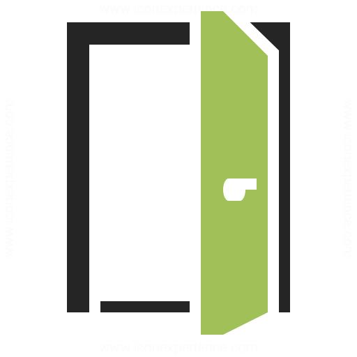 Door Open Icon Iconexperience