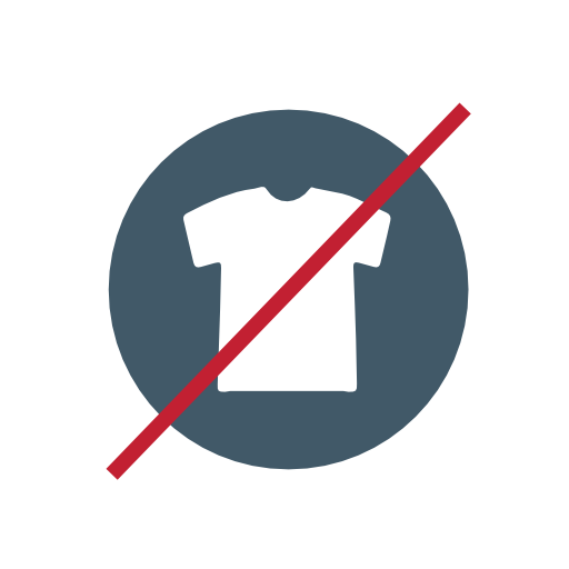 No, Clothing Icon Free Of Recycling Icons