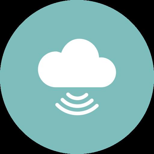 Cloud, Cloud Computing, Signal, Technology Icon