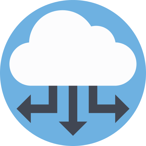 Cloud Computing Share Png Icon