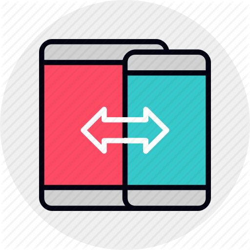 Connection, Data, Migration, Mobile, Phone, Sync, Transfer Icon