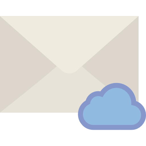 Note, Message, Interface, Envelope, Mail, Cloud Icon