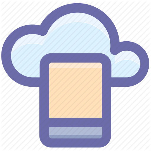Cloud Computing, Cloud Computing Concept, Cloud On Screen, Cloud