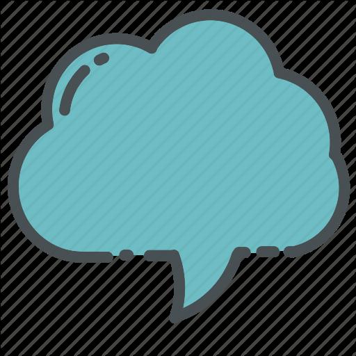 Bubble, Callout, Cloud, Contact, Message, Speech, Text Icon
