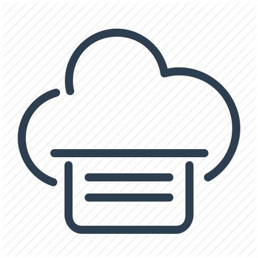 Cloud, Data Storage, File, Sharing, Share, Sharing, Text Icon