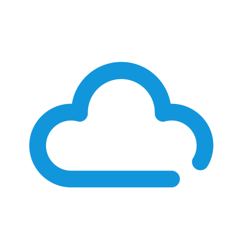 Cloud Server, Cyan, Download Icon With Png And Vector Format