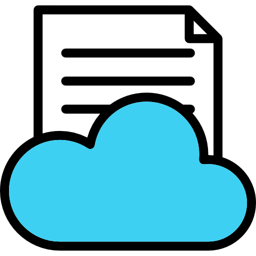 Cloud Computing Icon Linear Color Seo Freepik