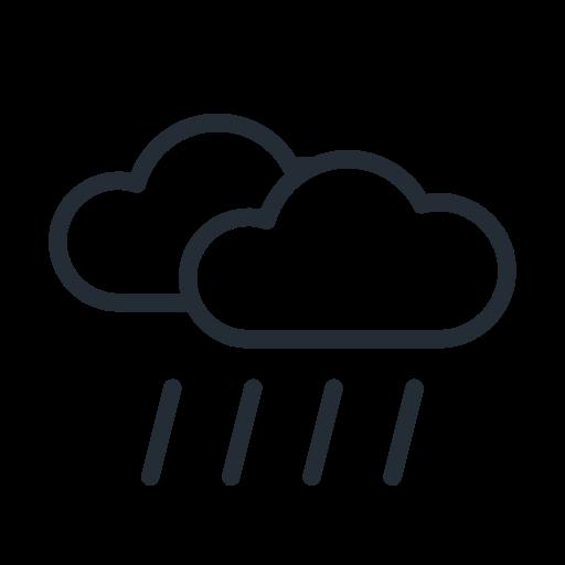 Rain, Rainy, Cloud, Weather, Clouds Icon