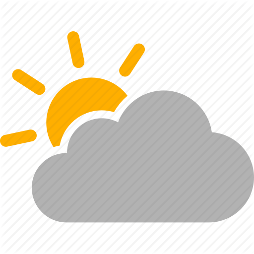 Cloud, Cloudy, Mostly, Partly, Sun, Sunny, Weather Icon