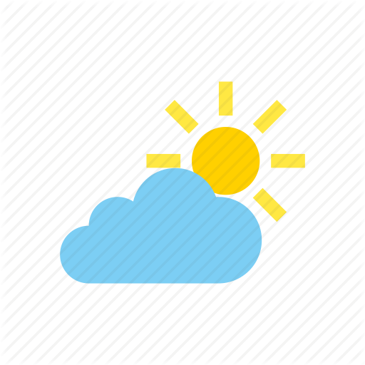 Cloudy, Partly, Weather Icon