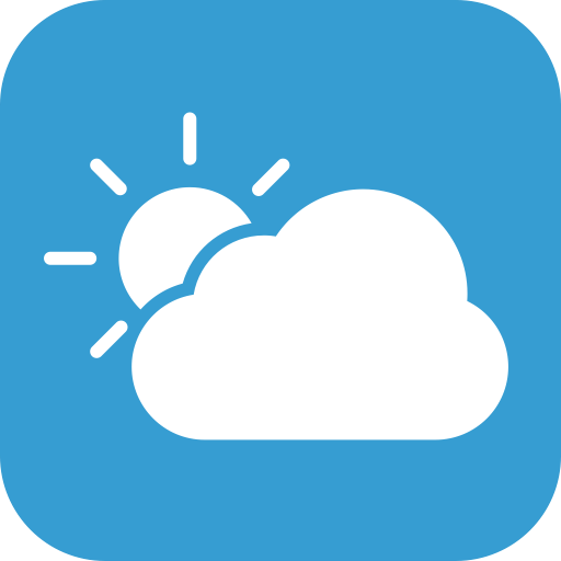 Partlycloudy, Partly, Cloudy Icon