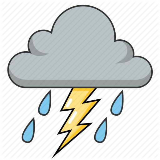 Thunder Clipart Cloudy For Free Download And Use In Presentations