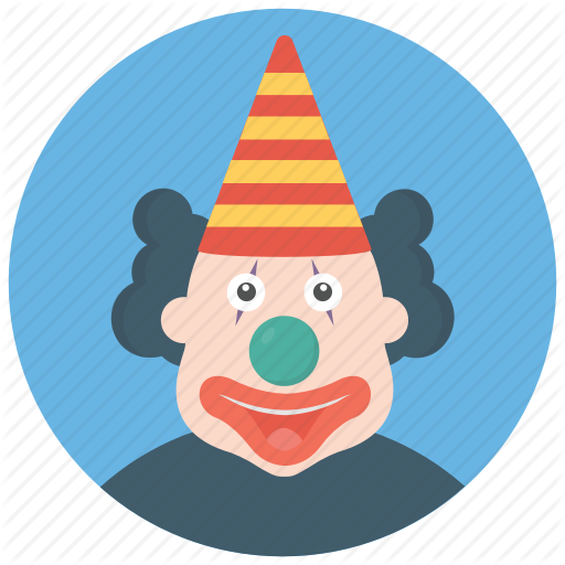 Birthday Clown, Character Clown, Circus Joker, Happy Tr Party