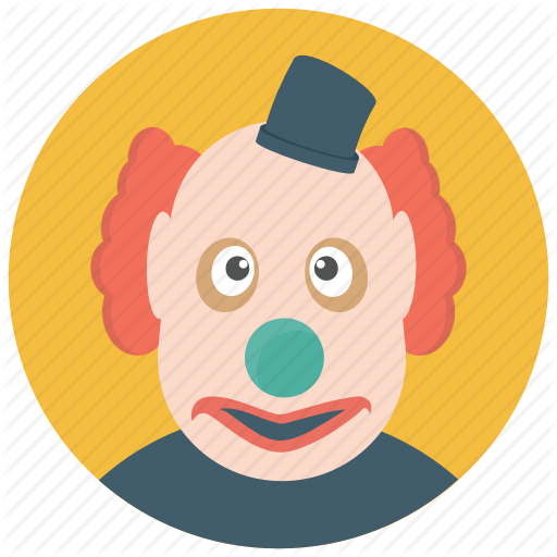 Circus Joker, Clown Gag, Clown Prop, Joker, Prank Clown Icon