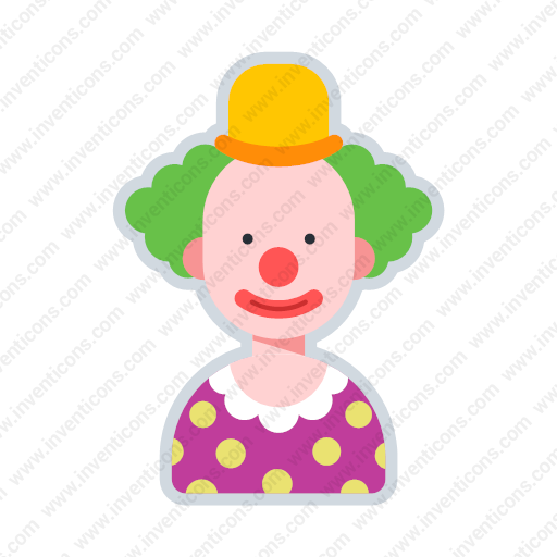 Download Avatar Clown,avatar,clown Icon Inventicons