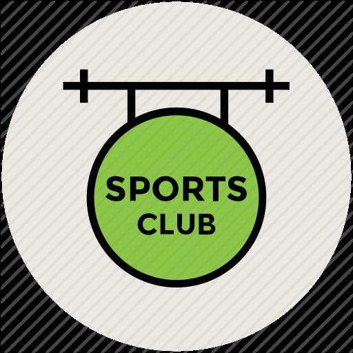 Club, Signboard, Sports, Sports Club Icon