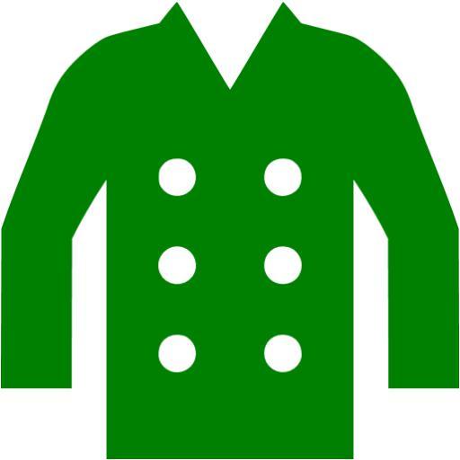 Green Coat Icon