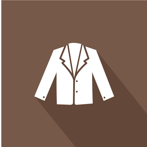 Woman's, Formal, Coat, Blazer Icon Free Of Clothing Icons Flat