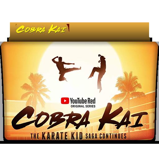 Cobra Kai Tv Series Folder Icon