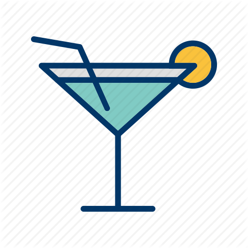 Cocktail, Drink, Glass Icon