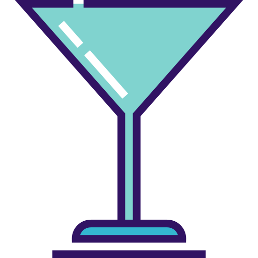 Cocktail Glass Cocktail Png Icon
