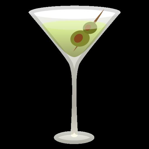 Cocktail Glass Icon Noto Emoji Food Drink Iconset Google