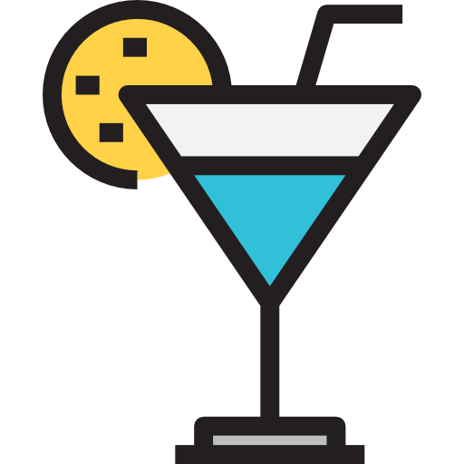 Cocktail, Wine, Food, Cup, Drink, Glass Icon