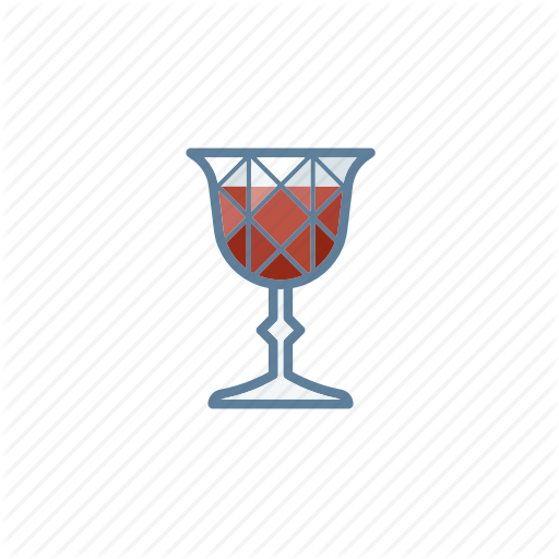 Alcohol, Cocktail, Glass, Wine Icon