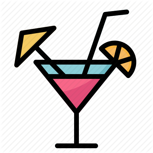 Alcohol, Alcoholic, Cocktail, Drink, Drinking, Party, Restaurant Icon