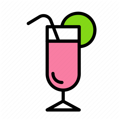 Cocktail, Relaxation, Seasonal, Vacation Icon