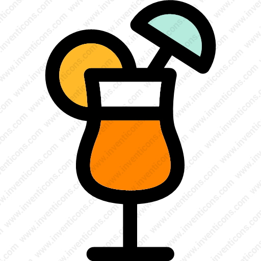 Download Cocktail,wine,alcoholic,beverage,food,straw Icon