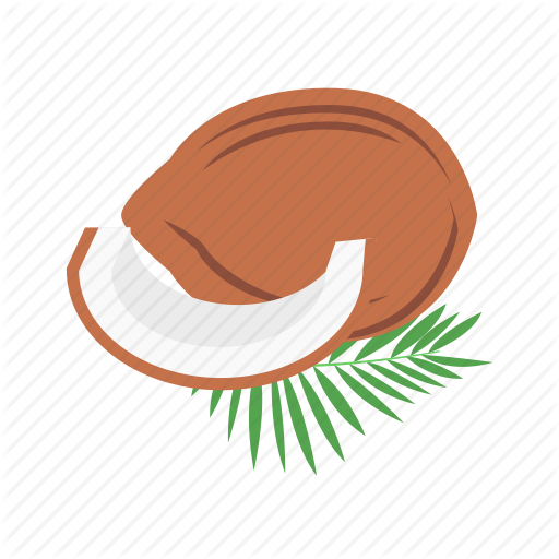 Coco, Coconut, Half Of Coconut Icon
